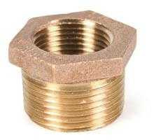 Brass Bush 1x3/4