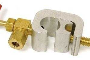 Brass Saddle Valve 1/4
