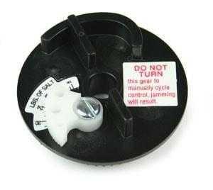 Fleck 5600 Brine Cam Assembly 36# Salt Label