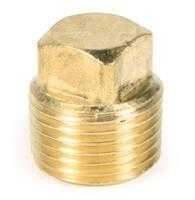 Brass Barstock Plug 1/2