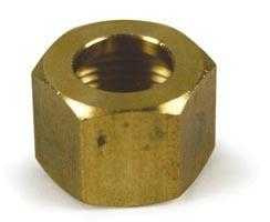 Brass Nut 3/8