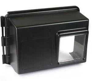 Fleck Environmental Cover Dark Grey w/Window